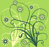 Spring background, vector Royalty Free Stock Photos