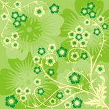 Spring background, vector Royalty Free Stock Image