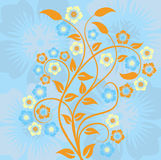 Spring background, vector Royalty Free Stock Photo