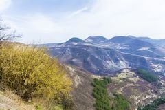 Beautiful Mountain Landscape from Bulgaria Royalty Free Stock Photography