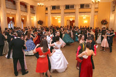 Spring ball Moscow Nobility Assembly Stock Photos