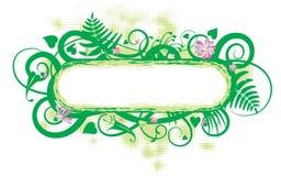 Spring banner Stock Image