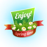 Spring Banner Stock Photography