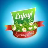 Spring Banner Stock Images