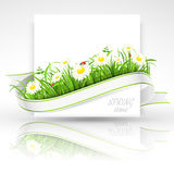 Spring banner royalty free illustration