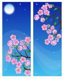 Spring banners. stock photos