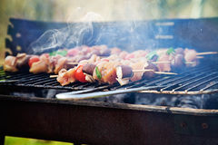 Spring barbecue Stock Image