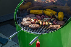 Spring Barbecue bbq in Luxembourg Royalty Free Stock Images