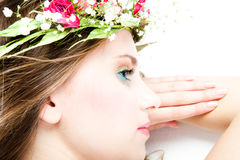 Spring beauty Stock Photos