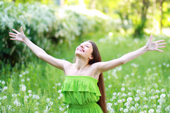 Spring Beauty Girl Royalty Free Stock Photography