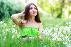 Spring Beauty Girl Royalty Free Stock Images
