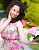Spring Beauty Girl Royalty Free Stock Photo
