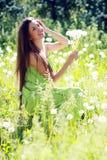 Spring Beauty Girl Stock Image
