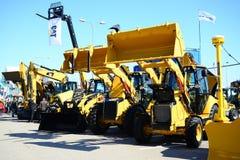 Spring - begining of construction season in Vilnius city Stock Photography