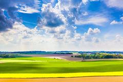 Spring in the Belgian countryside Royalty Free Stock Photo
