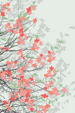 Spring blossom print Royalty Free Stock Photo
