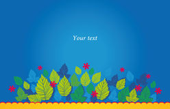 Spring_blue Foto de archivo libre de regalías