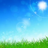 Spring Blue Background Royalty Free Stock Image