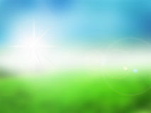 Spring blur background Stock Photos