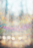 Spring blurred background with bright colorful bokeh Royalty Free Stock Photos
