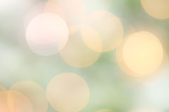 Spring Bokeh Light Stock Photography