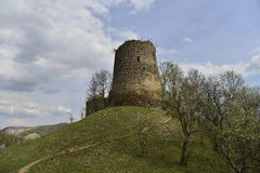 Spring at the Bologa medieval fortress Royalty Free Stock Photography