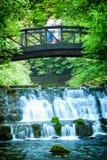 Spring of the Bosna River. (Vrelo Bosne) in Sarajevo, Bosnia and Herzegovina royalty free stock images