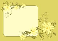 Spring bouquet. Card Stock Photo