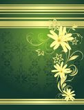 Spring bouquet. Decorative background for wrapping Royalty Free Stock Photo