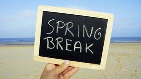 Spring break at the beach Stock Photos