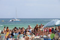 Spring Break - Ft Lauderdale, Florida Stock Image
