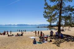 Spring Break, Lake Tahoe Stock Photo