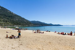 Spring Break, Lake Tahoe Royalty Free Stock Photos