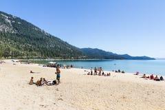 Spring Break, Lake Tahoe Royalty Free Stock Photography