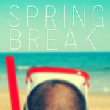 Spring break Royalty Free Stock Image