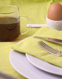 Spring breakfast Stock Image