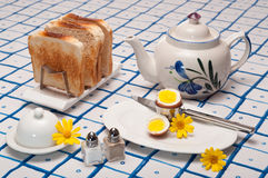 Spring Breakfast Royalty Free Stock Photography