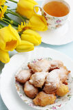 Spring breakfast Royalty Free Stock Images