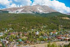 Spring in Breckenridge. Colorado. Sunny Day in the Valley royalty free stock photo