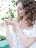 Spring bride Stock Photos