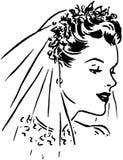 Spring Bride Stock Image