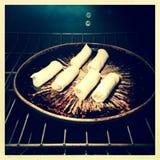 Spring Broodjes op Stock Foto's