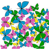 Spring Butterflies Royalty Free Stock Image