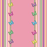 Spring Butterfly Background Royalty Free Stock Photos