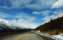 Spring canadian rocky mountains Royalty Free Stock Image