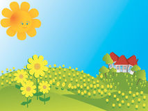 Spring card Stock Images