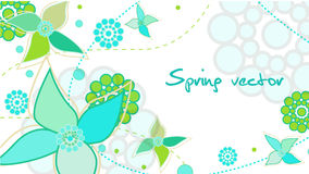 Spring card Stock Photo