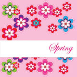 Spring_card Royalty Free Stock Images