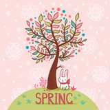 Spring card. Stock Photo