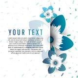 Spring card design Stock Image
